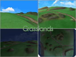 MMD Grasslands by kaahgomedl