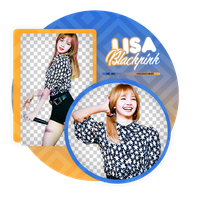 LISA//BLACKPINK-PNGPACK#1 by MoonSober