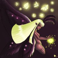 Mothqueen colored by Lulana