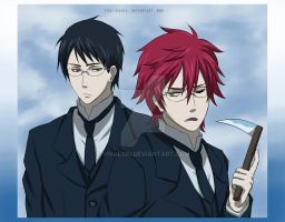 Will and Grell by Vivalski