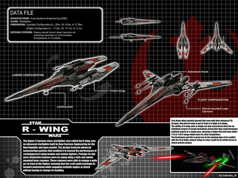 Star Wars Cyclone Class R-Wing by calamitySi