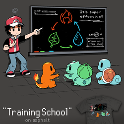 Training School - tee by InfinityWave
