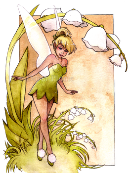 - Tinkerbell - by Doria-Plume