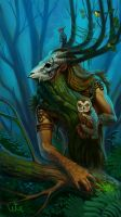 Forest Keeper by WhiteGrifon