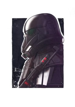 Death Trooper SketchCard 2017 by Future-Infinity