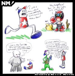 Fanart- Homestar Runner by spookydoom