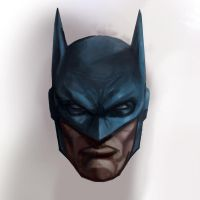 Batman Color Study by Dee-Pathirana