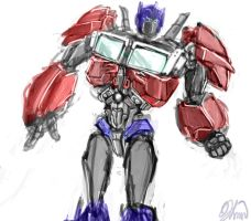 Tfp: Optimus Finished (sort of) by qwertyempire