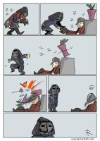 dishonored, doodles 47 by Ayej