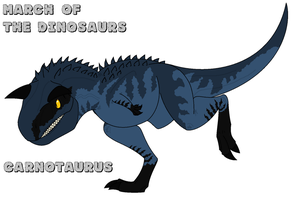 March of the Dinosaurs - day 27 by Absol989