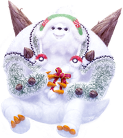 Christmas Chesnaught by JA-punkster