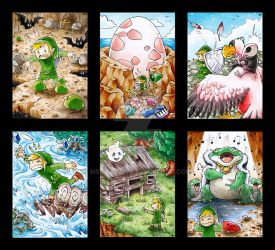Links Awakening - ATC by Merinid-DE