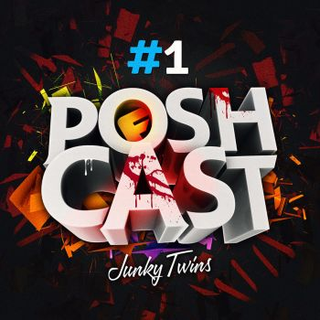 Junky Twins - Poshcast Cover by corecubedesign