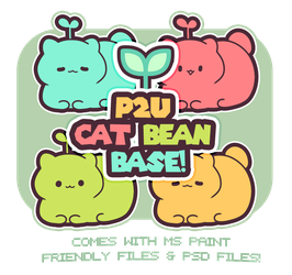 Cat Bean Base - ( 100 points! ) by plushpon