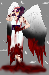 Halloween Event Day 11:  Massacre Angel (closed) by Qu-Ross