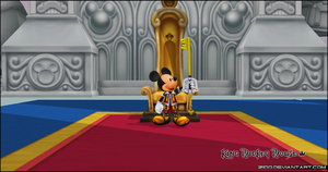 King Mickey Mouse by Zido