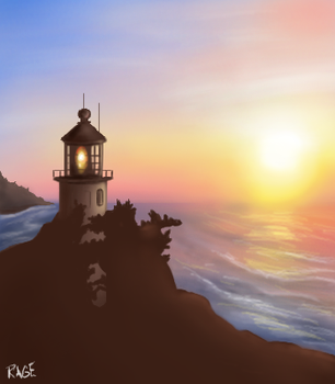 Lighthouse by RageInflictor
