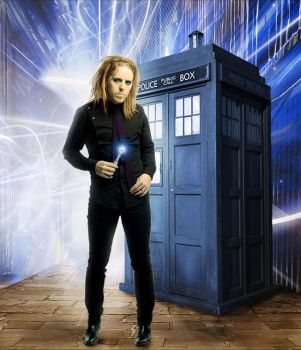 Tim Minchin Time Lord by Isensmith