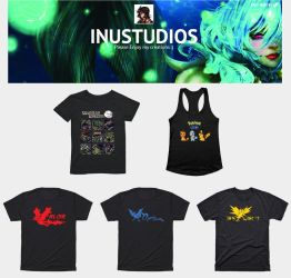 Shirts, mugs, bags, etc for sale by Inu-Nee