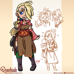 Questcade #1: Molly the Brave by The-Knick