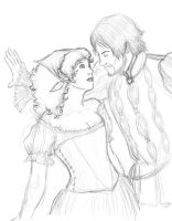 TA - Anna and Cesare by ChocoboGoddess