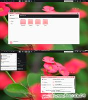 Theme Clear Pink By K1000a09 by k1000adesign