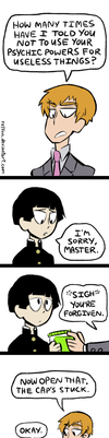 Mob Psycho 100 in a Nutshell by relyon
