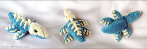 Fakemon Liupleton Mini Plush by xBrittneyJane