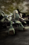 Mecha Tank (Updated) by gagaman92