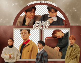 Pack Png 822 // EXO (UNIVERSE) by BEAPANDA