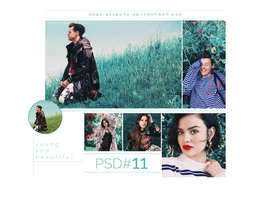PSD #11 - Young And Beautiful by gabi-effects