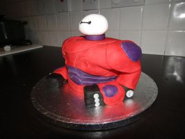 Baymax Cake by BevisMusson