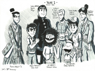 Jump's 50th Years -  The Year 1 of Magazine by FTFTheAdvanceToonist