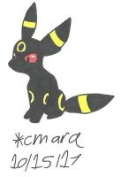Umbreon by cmara