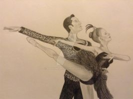 Ballet Dancers - close up