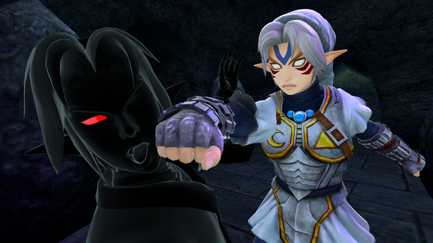 Fierce deity link vs dark link