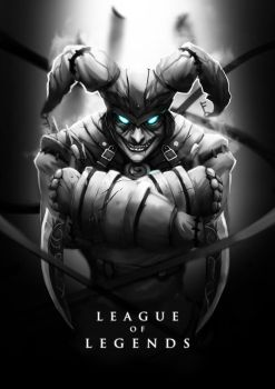 Asylum Shaco by wacalac