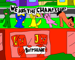 We are the Champions! by PokeGirlRULES
