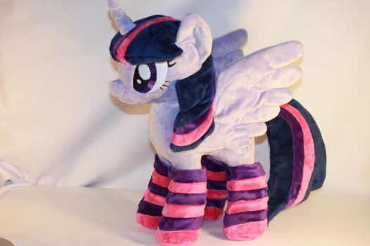 Alicorn Twilight Sparkle- With Socks by KarasuNezumi
