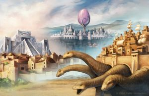 W20 Shattered Dreams: Lost Cities of Wonder by WillOBrien