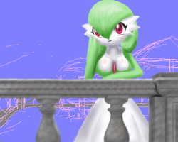 Gardevoir at Cafe Unfinishable by wsxb