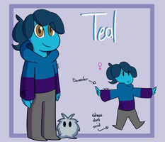 Teal | Persona Reference sheet by TealTNT