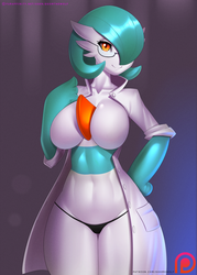 Gardevoir Lab Girl by DoomXWolf