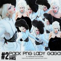 2 Pack Png de Lady Gaga 2011 by TeamTwi-KikisArt