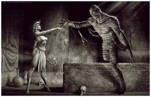 The Mummy Rises by Valzonline