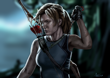 Shadow of the Tomb Raider by jorgesito