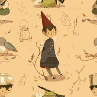 Over the garden wall PATTERN by Owlyjules