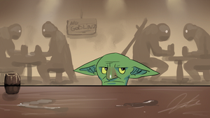 Angry goblin by G-manbg