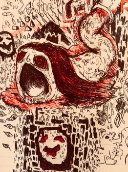 The Red Devil of the Sewers. by Apgigan