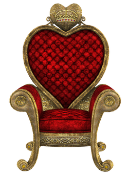 UNRESTRICTED - Queen of Hearts Throne Render 01 by frozenstocks